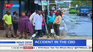 14 people are undergoing treatment in hospital after being involved in an accident in the CBD