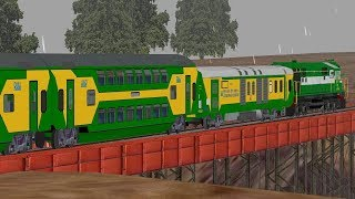 12423/DBRT NDLS Rajdhani Express | KJM WDP4 | MSTS or Open Rails