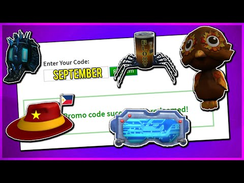 *SEPTEMBER* ALL WORKING PROMO CODES ON ROBLOX 2019  MAKE ROBLOX PROMO CODE ACCOUNT! (NOT EXPIRED!)