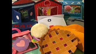 Target Felt Food Toys & Playsets Unboxing, For Educational & Play!