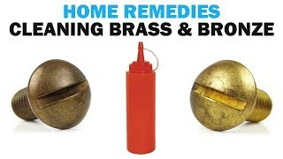 Home Remedies For Cleaning Bronze & Brass Fasteners | Fasteners 101