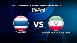 Watch AFCU20FC semifinal: Thailand v Iran
