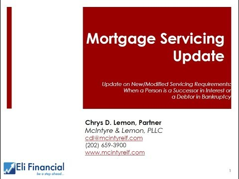 Download April 19, 2018: Update on Mortgage Servicing Requirements Mp4 HD Video and MP3