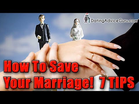 How to save your marriage & stop divorce
