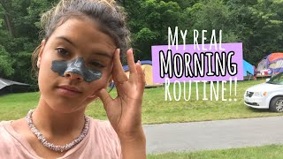 My REAL Summer MORNiNG ROUTiNE