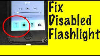 Missing iPhone Flashlight Fix