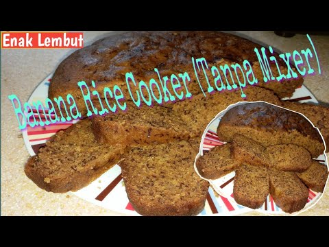 Resep_Banana Cake Rice Cooker No Mixer || #Antigagal#enaklembut  Bolu Pisang Kukus