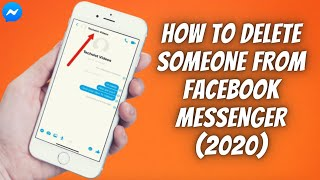 How To Delete Someone From Facebook Messenger (2020) ✅  Remove & Block People On Messenger EASILY! ✅