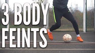 3 Body Feints to Learn   Football Skills