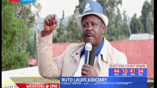 Bomet Governor, Isaac Rutto lauds the court for it's ruling