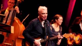 """Strange Overtones""- David Byrne - St Ann's - Brooklyn -January 8 2014"