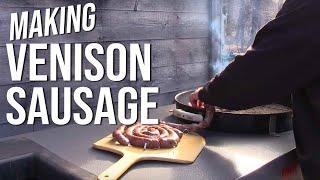 Venison Sausage by the BBQ Pit Boys