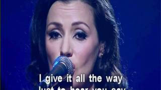 Tina Arena Here comes the star (Lyrics)