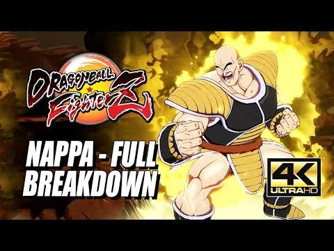 NAPPA – Specials, Supers & Saibamen: DragonBall FighterZ