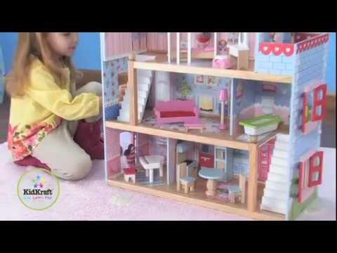 Nukumaja Kidkraft Chelsea цена и информация | Игрушки для девочек | kaup24.ee