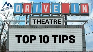 Top 10 Drive In Movie Theatre Tips