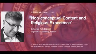 "Sebastian Kolodziejczyk, ""Non-conceptual Content and Religious Experience"""