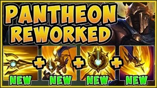 THIS REWORK IS 100% BEING NERFED! NEW PANTHEON REWORK IS 100% UNFAIR!   League Of Legends Gameplay