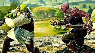 Soul Calibur 6 - Shrek vs Thanos Gameplay (1080p 60fps)