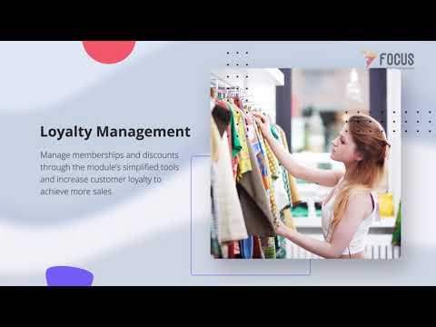 Retail Point of Sale (POS) Module | Focus POS | Focus Softnet