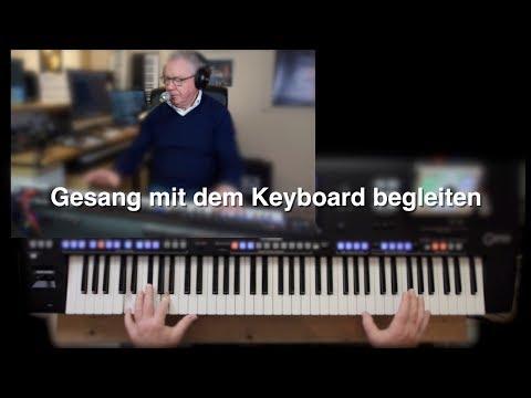 Gesang mit Keyboard begleiten (PSR/Tyros/Genos)