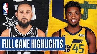 SPURS at JAZZ | FULL GAME HIGHLIGHTS | August 13, 2020