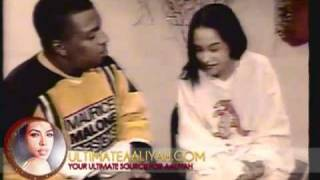(RARE) 'AALIYAH Interview At Her 16th Birthday Party ★★★★★