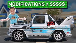 Why Modifications Don't Make Your Car More Valuable