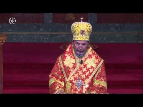 Homília - vladyka Cyril Vasiľ SJ - Bazilika Michalovce - 27.8.2017