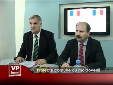 Proiecte comune cu moldovenii