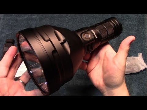 AstroLux MF04 Flashlight Review! (Super Thrower)