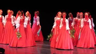 "Amazing Russian Floating Folk Dance ""Birch Tree / Beryozka"""
