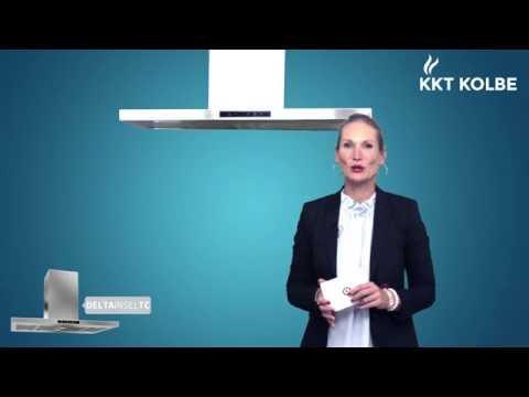 KKT KOLBE Produkt-Check: Inselhaube DELTA INSEL TC mit 800 cbm/h Leistung und LED-Beleuchtung