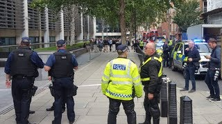 video: Arrest after stabbing at Home Office in Westminster leaves man in hospital