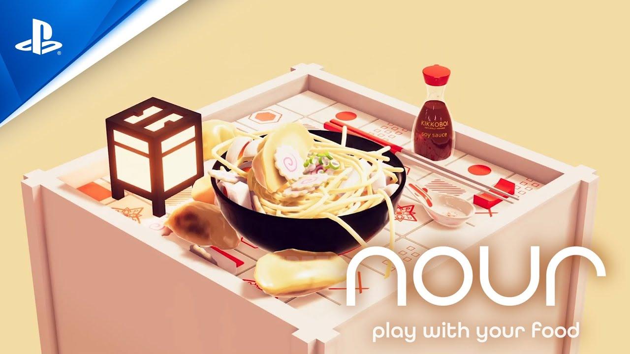 Помощник шеф-повара в Nour: Play With Your Food – интерактивный саундтрек
