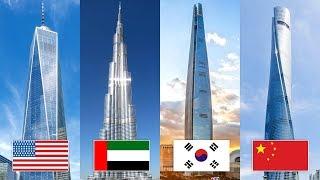 Das sind die höchsten Gebäude der Welt!