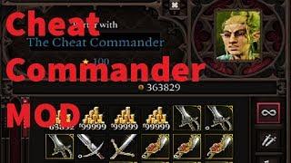 The Cheat Commander