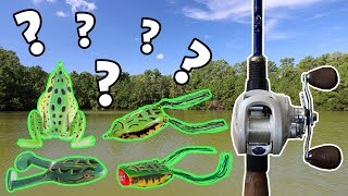 Which is the BEST TOPWATER FROG Lure??? | Topwater Frog Bass Fishing BLOWUPS!