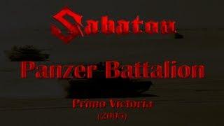 Sabaton   Panzer Battalion (Lyrics English & Deutsch)
