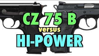 CZ 75 B vs. Browning Hi-Power