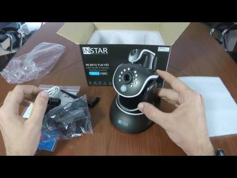 INSTAR IN-8015 Full HD Indoor IP Camera Manual Lense Adjustment
