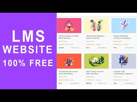 How to Create an Online Course Selling, LMS Site Like Udemy in WordPress 2020 - 100% FREE
