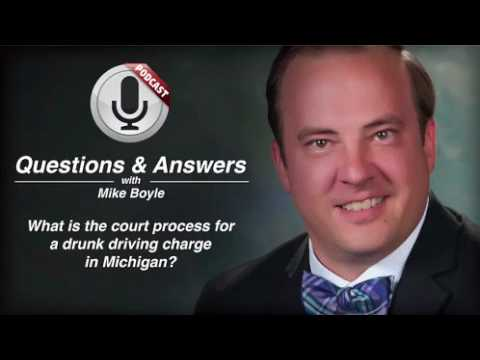 video thumbnail Michigan Drunk Driving Court Process