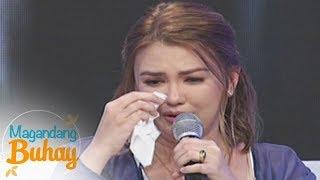 Magandang Buhay: An emotional Angelica Panganiban shares how much she loves her relatives