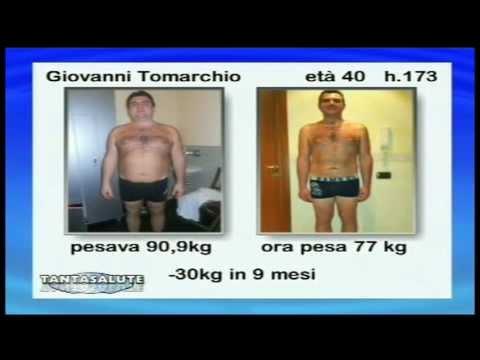 Mirimanova prima di perdita di peso