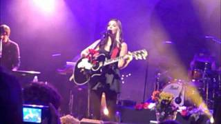 Christina Perri - Tragedy (Live in Glasgow 15/01/12)