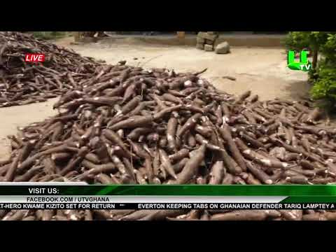 Ayensuano, E/R : Farmers Protest Illegal Sandwinning