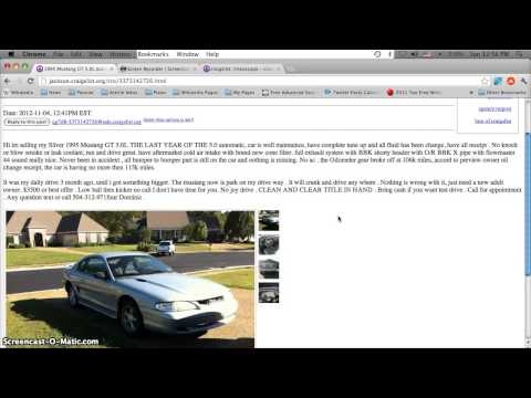 Craigslist Cars You Like Auto