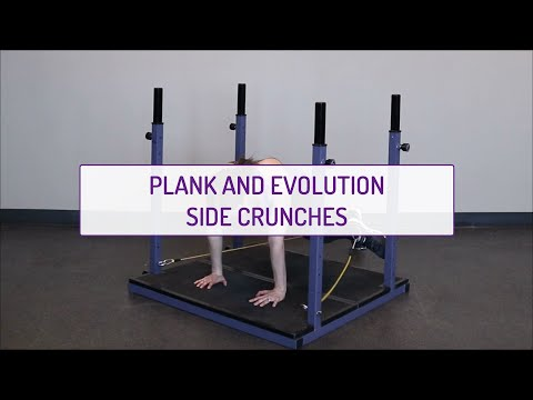 Plank and Evolution Side Crunches