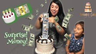 Surprise Money Cake Easy Tutorial